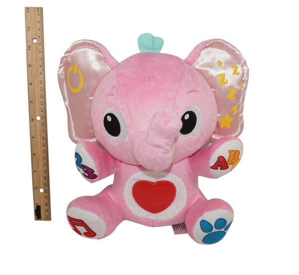 PINK ELEPHANT ACTIVITY SOUNDING PLUSH TOY FIGURE LITTLE TIKES MY BUDDY LALAPHANT - EZ Monster Deals