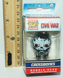 3 LOT - CROSSBONES KEYCHAIN + TOY PLUSH FIGURE + IRON MAN INK PEN MARVEL COMICS - EZ Monster Deals