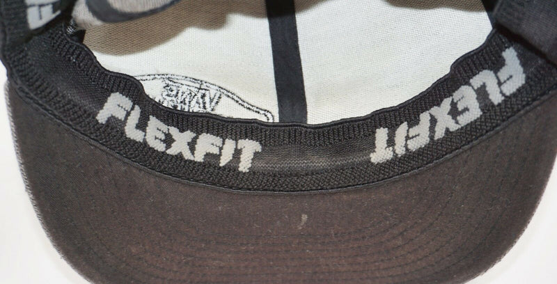 VANS OFF THE WALL SKATEBOARDING THEME - BASEBALL CAP HAT PINSTRIPE USED 2010-EZ Monster Deals