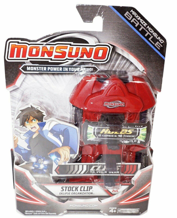 "MAXIMIZE MONSUNO BATTLE STOCK 5"" TOY CLIP ACCESSORY - EKLIPSE RED 2012 NEW HTF-EZ Monster Deals"