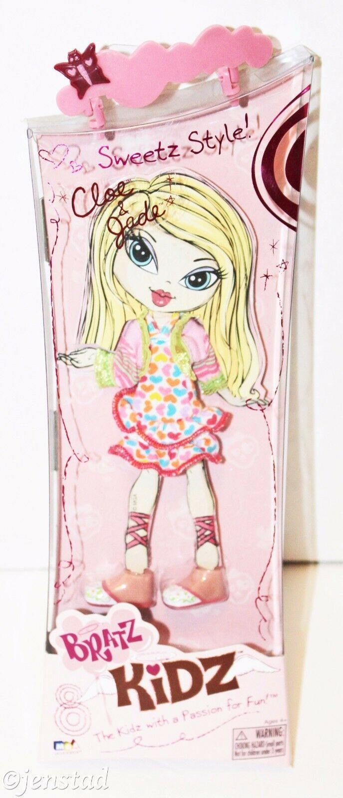CLOE & JADE BRATZ KIDZ SWEETZ STYLE CLOTHING OUTFIT FOR FASHION TOY DOLL FIGURE - EZ Monster Deals