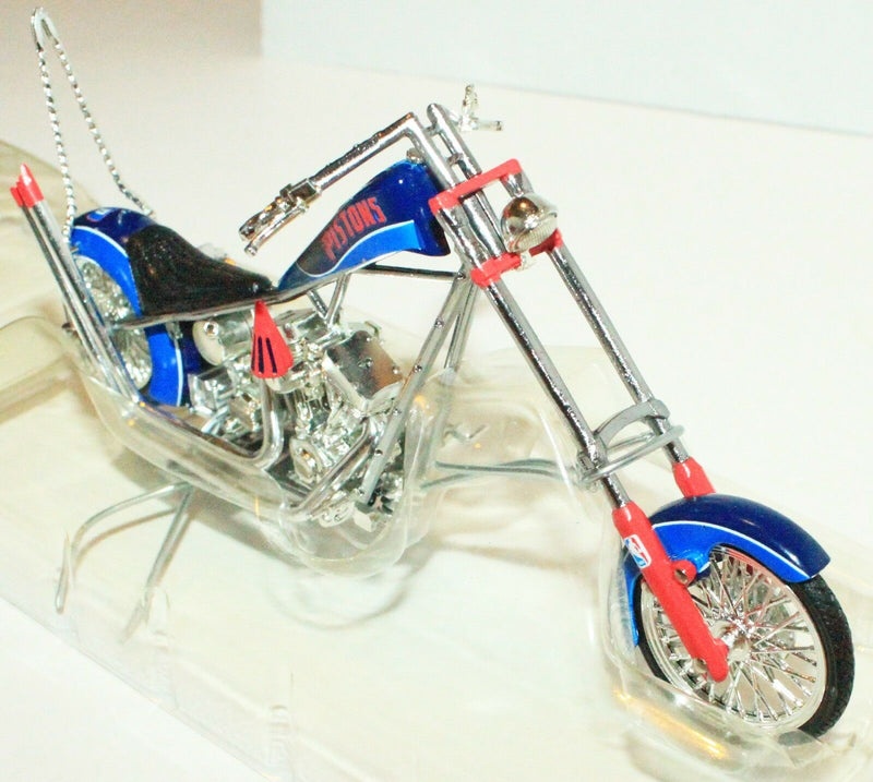 DETROIT PISTONS NBA BASKETBALL 1:18 OCC CHOPPER TOY DIECAST MOTORCYCLE ERTL 2005-EZ Monster Deals