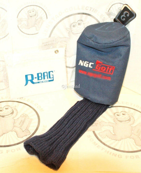 NGC DRIVER CLUB 3 PROTECTIVE COVER GOLF HEADCOVER & R-BAG ACCESSORY POUCH - EZ Monster Deals