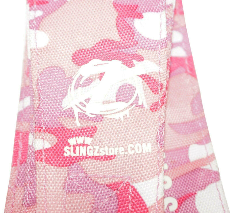 PINK CAMO SLINGZ HANDS FREE SPORTS STRAP SKATEBOARDS SCOOTERS RIPSTIKS RAZORS - EZ Monster Deals