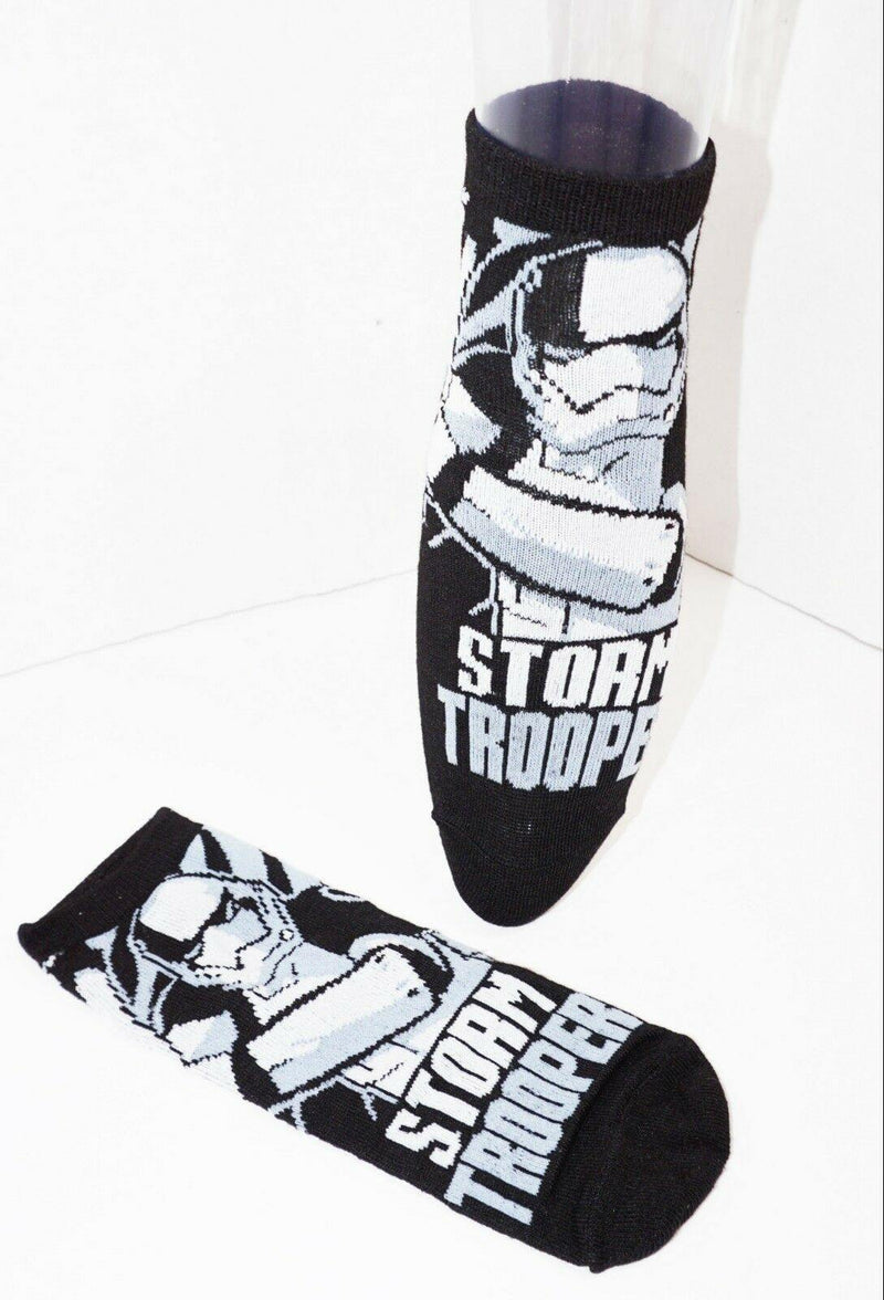 DISNEY STAR WARS 3 PACK 1 SET LOW CUT SOCKS ADULT SHOE SZ 7-12 HYP 2016 STYLE