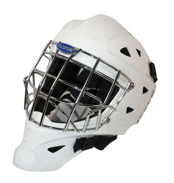 "ITECH PROFILE 1200 JR GOALIE MASK 20.4""-22"" JUNIOR GOAL HELMET HOCKEY 2004 - EZ Monster Deals"