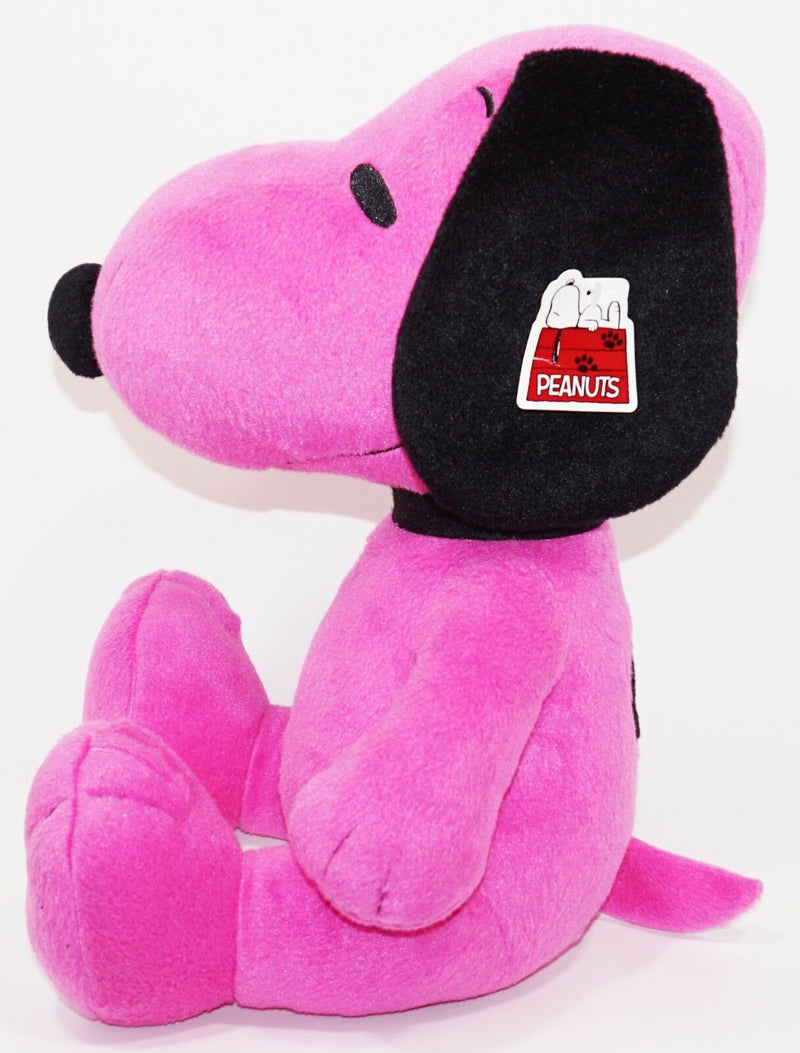 "SNOOPY PURPLE - FROM CHARLIE BROWN PEANUTS OEM 13"" PLUSH TOY FIGURE USED-EZ Monster Deals"