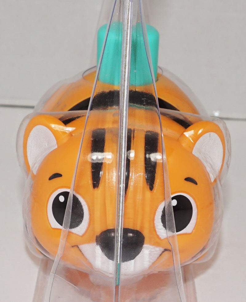 LITTLE TIKES TOUCH N' GO TIGER - BABY TOY FIGURE PUSH BUTTON & WATCH ROLL NEW - EZ Monster Deals