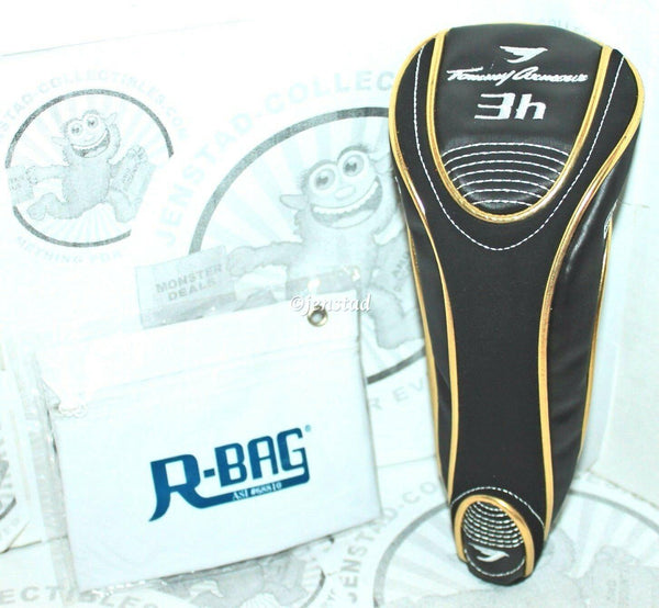 TOMMY ARMOUR 845 CLUB PROTECTIVE 3H COVER GOLF HEADCOVER & R-BAG USED - EZ Monster Deals
