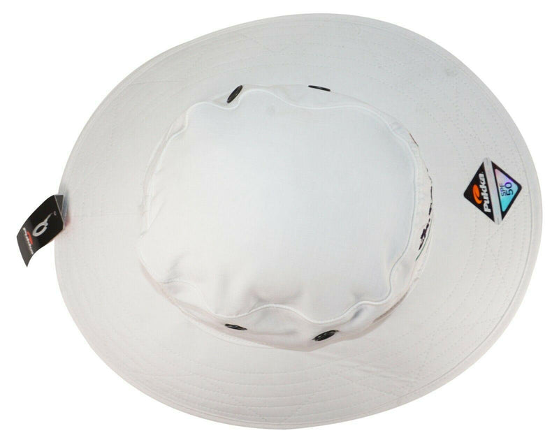 EATON CANYON GOLF COURSE PASADENA,CA RECREATION LARGE BRIM BUCKET WHITE HAT NEW - EZ Monster Deals