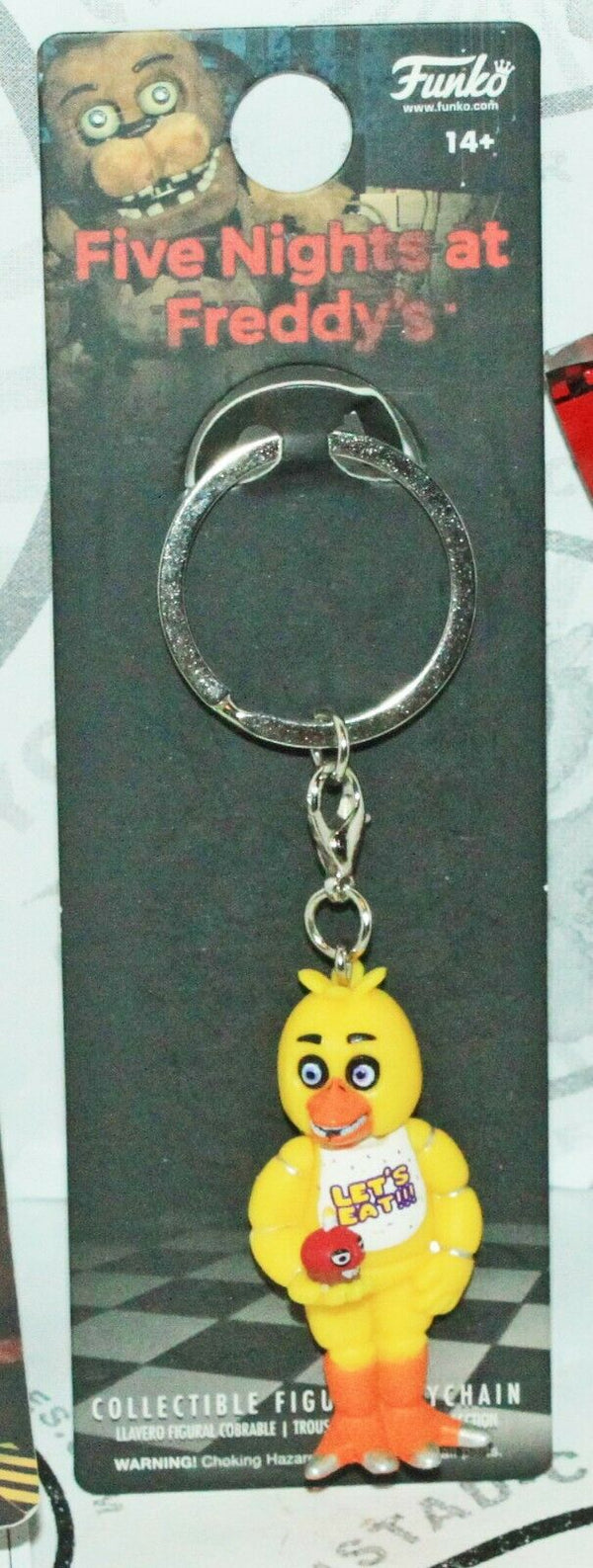 CHICA FNAF FIVE NIGHTS AT FREDDY'S - FUNKO TOY KEYCHAIN 2016 - EZ Monster Deals