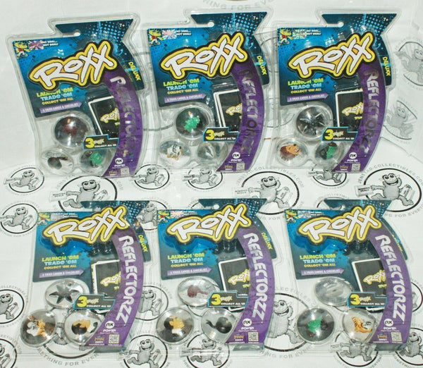 42 PCS - ROXX REFLECTORZZ 3D COLLECTIBLE REFLECTION HOLO TOY GAME DISC 2012 NEW - EZ Monster Deals