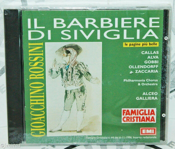 ROSSINI IL BARBIERE DI SIVIGLIA LE PAGINE PIU BELLE MUSIC CD - ITALIAN VERSION - EZ Monster Deals