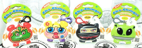 4 LOT - CHA-CHINGS VINYL TOY KEEPERS BUNCH 2 COLLECTIBLES IMPERIAL 2011 NEW