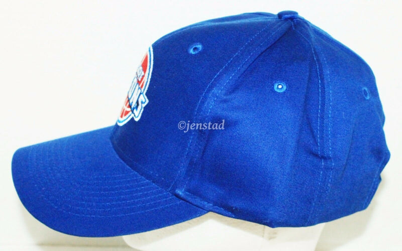 DETROIT PISTONS - ADIDAS NBA BASKETBALL BLUE CLASSIC LOGO & STYLE CAP HAT NEW-EZ Monster Deals