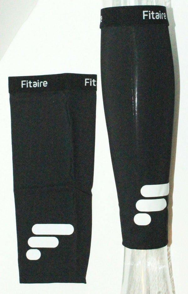 FITAIRE PREMIUM COPPER CALF COMPRESSION & SUPPORT BLACK SLEEVE ADULT XLARGE NEW