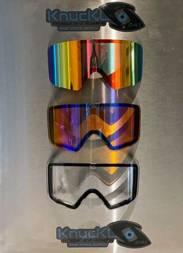 Fire Red Goggles