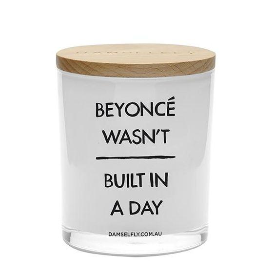 Vela Beyonce wasn't ́built in a day