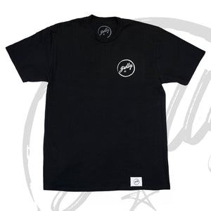 Gullypabs - Black Logo Tee