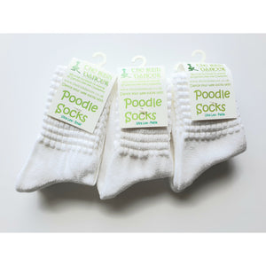 Ultra Low Ankle Length Poodle Socks - Bulk Pack of 12