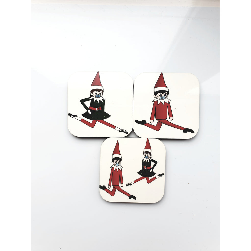 Irish Dancing Elf on the Shelf Fridge Magnet