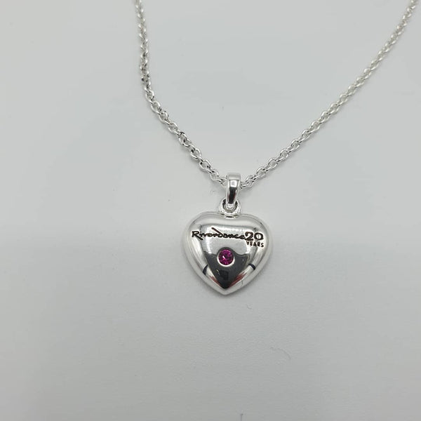 Riverdance 20th Anniversary Heart Necklace