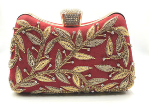 Red Golden clutch