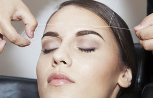 Forehead Threading