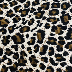 Cotton 3 ply mask Leopard