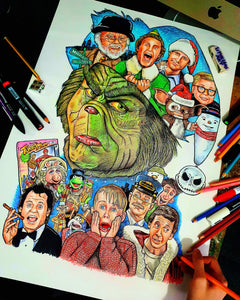 Christmas movies tribute (Grinch)