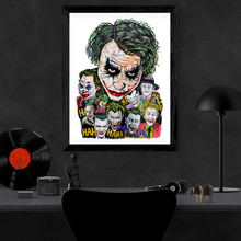 Load image into Gallery viewer, Jokers Tribute Poster