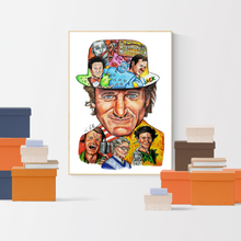 Load image into Gallery viewer, Robin Williams Tribute Poster