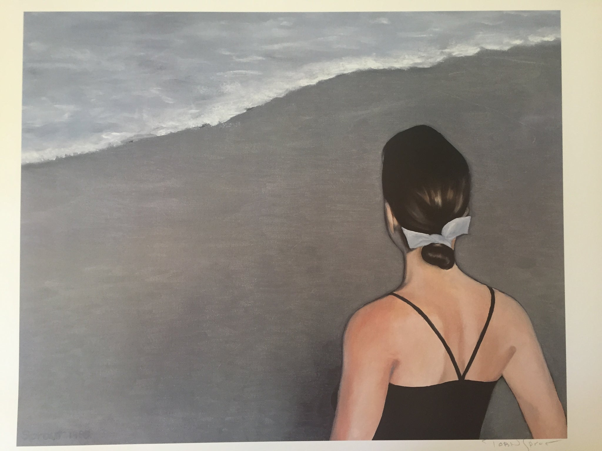 """By The Water"" Signed Print"