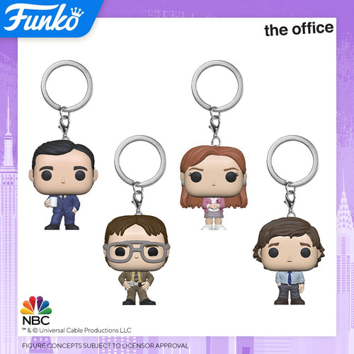 <transcy>Funko Pocket Pop The Office Llaveros</transcy>
