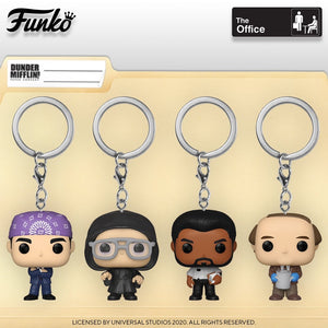 Funko Pocket Pop! Keychain The Office Wave 2