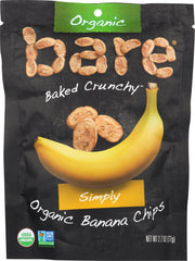 BARE FRUIT: Organic Banana Chips, 2.7 oz