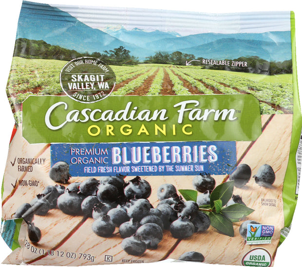 CASCADIAN FARM: Blueberries, 28 oz