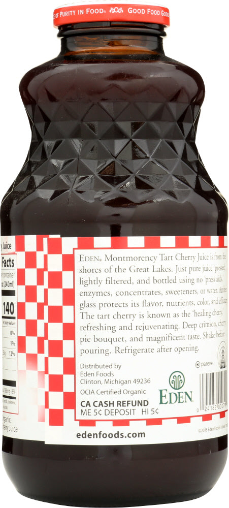 EDEN FOODS: Organic Tart Cherry Juice, 32 oz