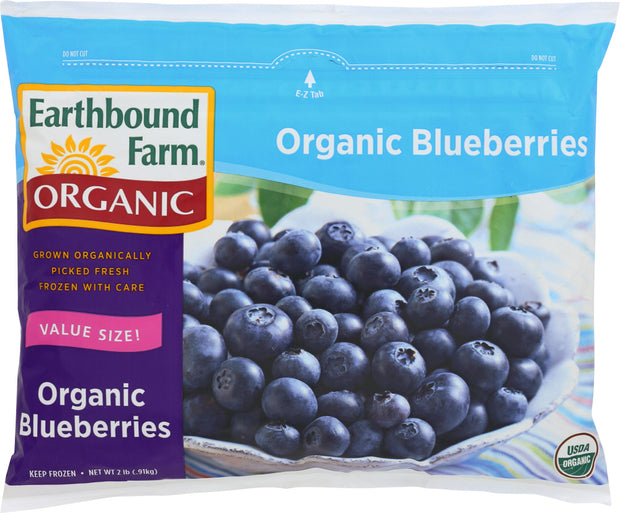 EARTHBOUND FARM: Organic Blueberries, 2 lb
