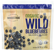 WOODSTOCK: Organic Frozen Wild Blueberries, 10 oz