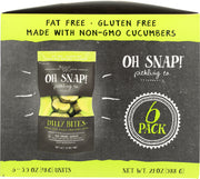 OH SNAP: Dilly Bites Pickle Multipack, 6 pk
