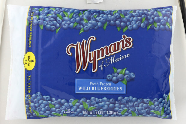 WYMANS: Fresh Frozen Wild Blueberries, 3 lb