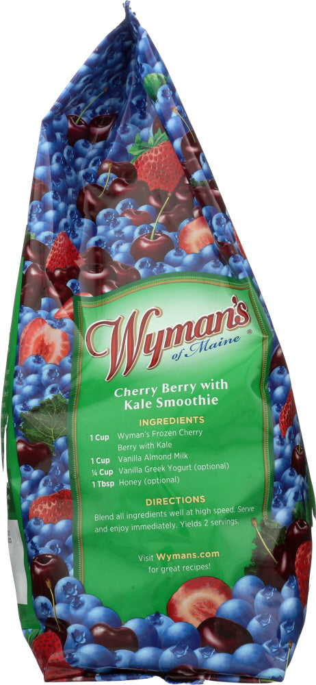 WYMAN'S: Strawberries, Blueberries & Cherries With Kale, 3 lbs
