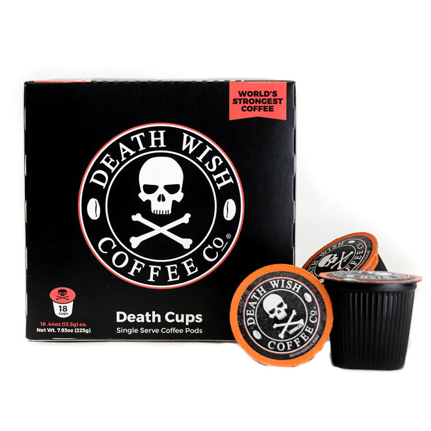DEATH WISH COFFEE: Single Serve Capsules Coffee, 18ct