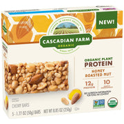 CASCADIAN FARM: Honey Roasted Nut Chewy Bars, 8.85 oz