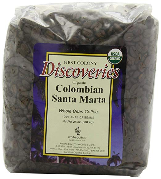 DISCOVERIES: Coffee Colombian Santa Marta Organic, 24 oz