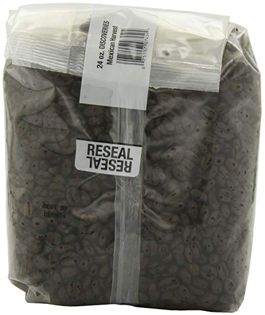 DISCOVERIES: Coffee Whole Bean Mexican Harvest Organic, 24 oz