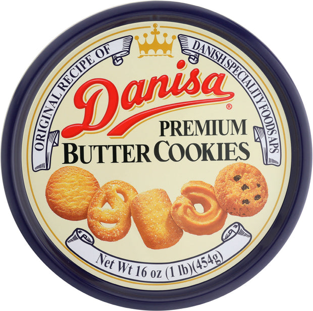 DANISA: Cookies-Butter Tin, 16 oz