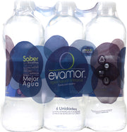EVAMOR: Natural Artesian Water 6x32 Oz Bottles, 192 oz