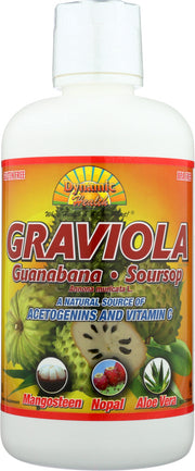 DYNAMIC HEALTH: Graviola Superfruit Juice Blend, 32 Oz